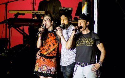 SASHA, BENNY Y ERIK EN SU GIRA DEL ADIOS